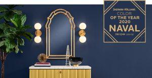 2020代表色出爐!美國油漆大廠Sherwin-Williams公開「寂靜深藍」,居家、辦公室都適用!