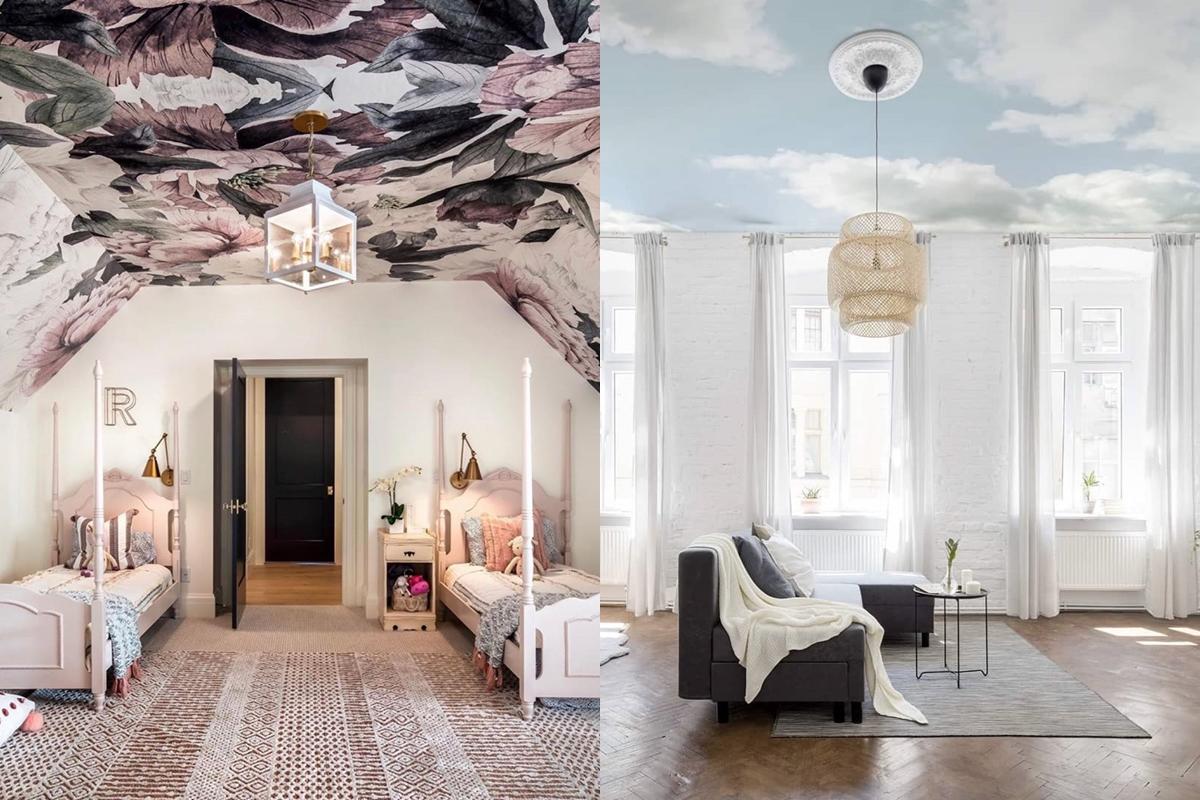 2020新趨勢!IG上的絕美「天花板壁紙」風潮,你有勇氣挑戰嗎?