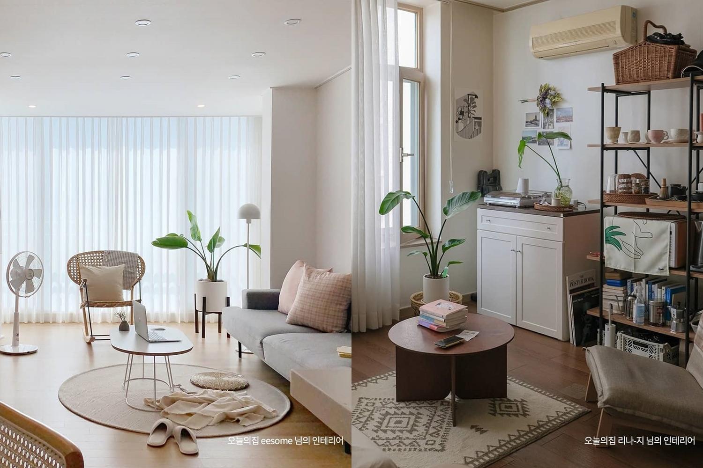 韓國超紅居家佈置帳號「todayhouse」,無論大空間或小坪數都適用!