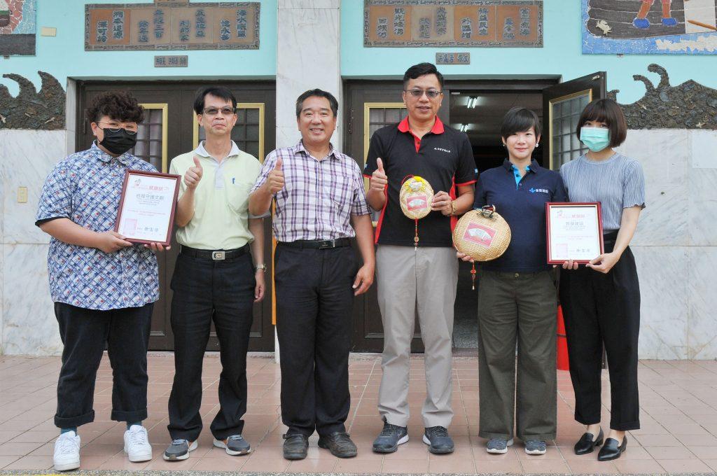 樂扶基金會與蚵寮國小與晉基建設與台灣守護文創為學童早餐努力